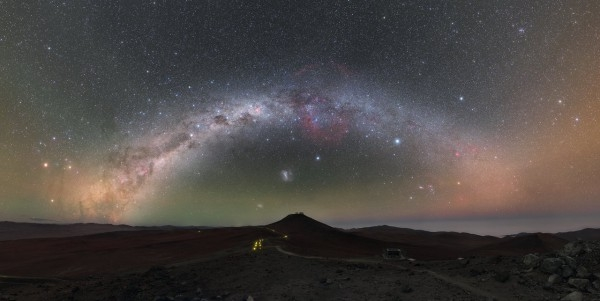Фото дня: Калейдоскоп цвета Млечного пути