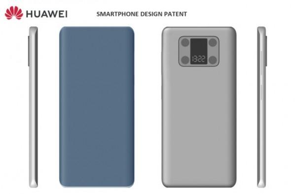 Huawei патентует смартфон со вторым экраном возле камеры