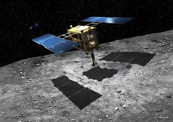 Японская капсула с образцами астероида приземлится в Австралии
