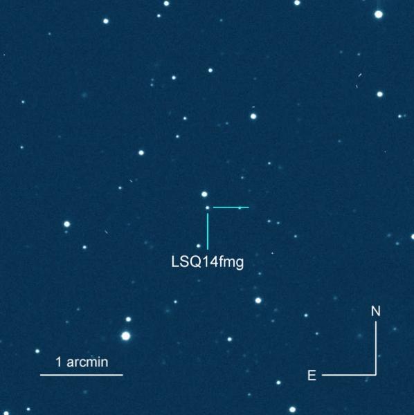 Астрономы наблюдают самую медленную сверхновую из когда-либо виденных