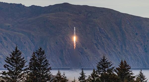 Частная американская ракета упала после старта