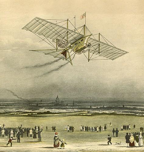 День в истории: 29 сентября - Самолет на пару и электрические трамваи