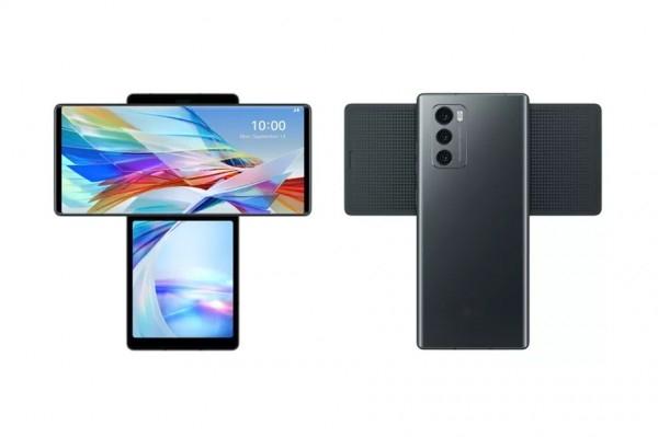 LG представила самый странный смартфон с поворотным дисплеем