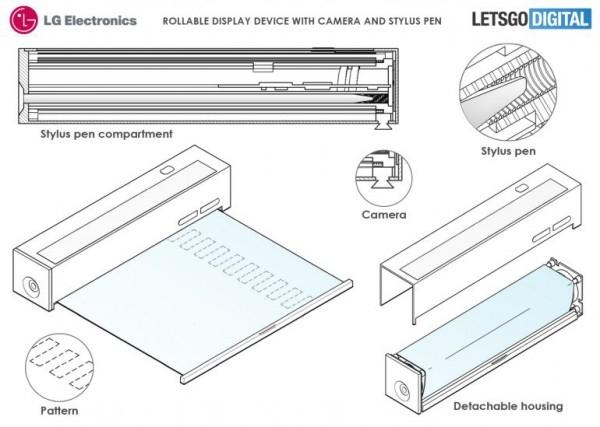 LG запатентовал мини-компьютер с выдвижным дисплеем