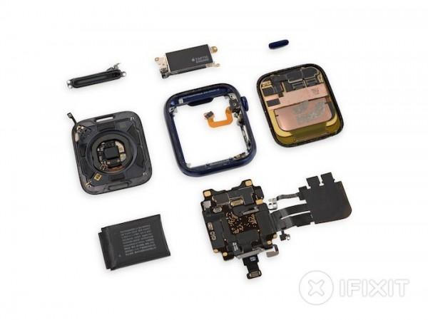 Много датчиков и большая батарея: Apple Watch Series 6 разобрали на части