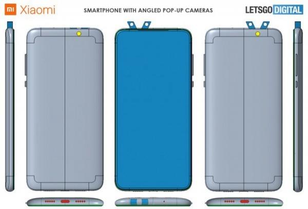 Рожки на телефоне: Xiaomi запатентовал странную камеру
