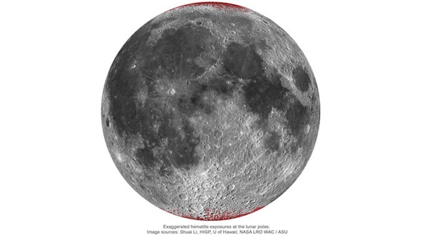 Сдуваемый с Земли кислород окислил камни на Луне