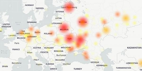 Telegram не работает: Пользователи сообщают о сбоях