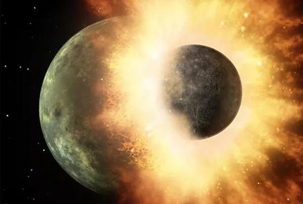 Теория образования Луны из-за столкновения получила подтверждение
