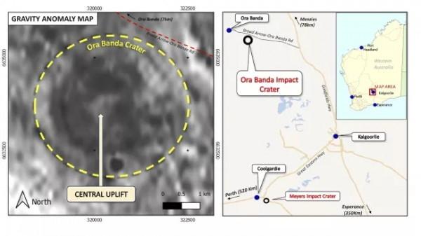 Золотодобытчики обнаружили метеоритный кратер возрастом 100 миллионов лет