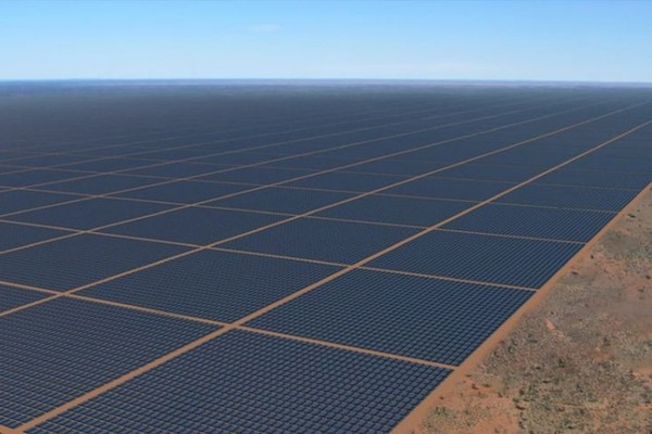 Самая большая солнечная электростанция будет видна из космоса