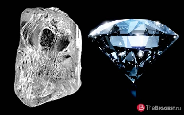 ТОП-10 самых больших алмазов в мире