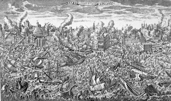 День в истории: 1 ноября - Магелланов пролив и мощнейшее землетрясение в Португалии