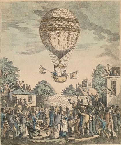 День в истории: 21 ноября - Изобретение фонографа и первый полет на воздушном шаре