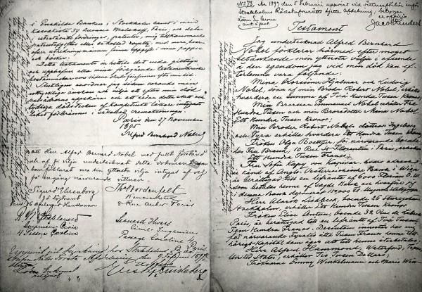 День в истории: 27 ноября - Завещание Нобеля и рождение Цельсия