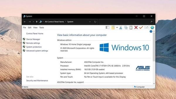 Из Windows 10 исчезнет Панель управления