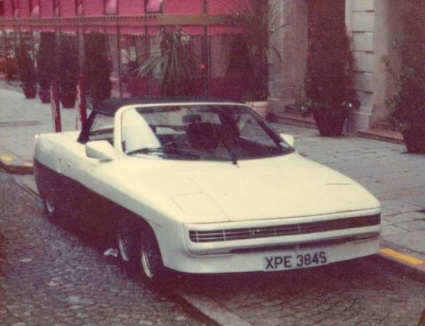 Panther 6: необычный 6-колёсный британский спортивный автомобиль 1977 года (14 фото)